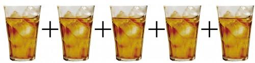 ウーロン茶割はカシスウーロンの4倍カロリー高!太らないお酒の飲み方、教えます