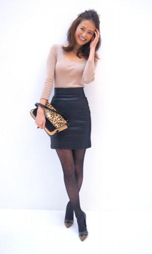 モデル葛岡碧がピチピチのタイトスカートをはく理由とは?