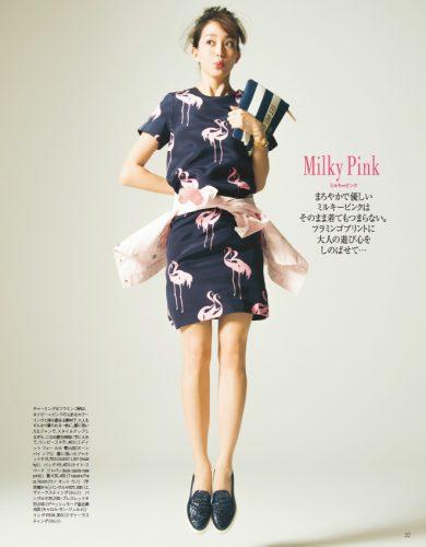 松島花×大人ピンクが可愛い!参考にしたい春のピンクの着こなし方