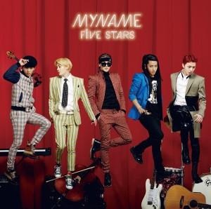 MYNAME『FIVE STARS』アルバム初回盤