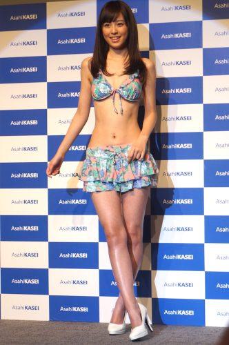 旭化成イメージガールは競泳歴10年の現役青学生、久慈暁子さん!