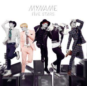 MYNAME『FIVE STARS』アルバム通常盤