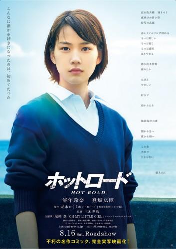映画『ホットロード』和希バージョン(能年玲奈)