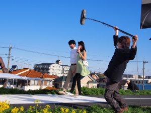 山本美月が女神すぎるCM撮影現場に潜入!5月よりOA開始