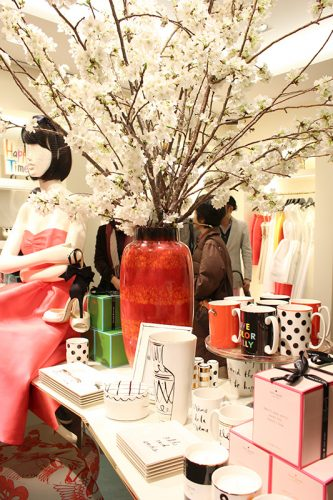 ケイト・スペード ニューヨーク、日本最大の旗艦店が4/5銀座にOPEN!