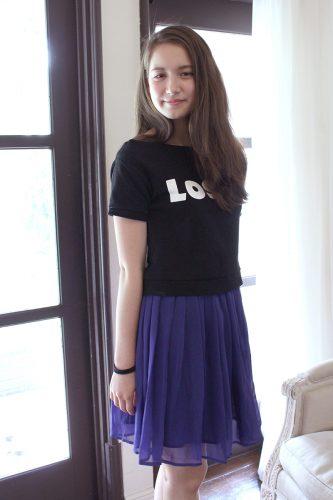 トラウデン直美、15歳。「みんなの着せ替え人形になりたい!」