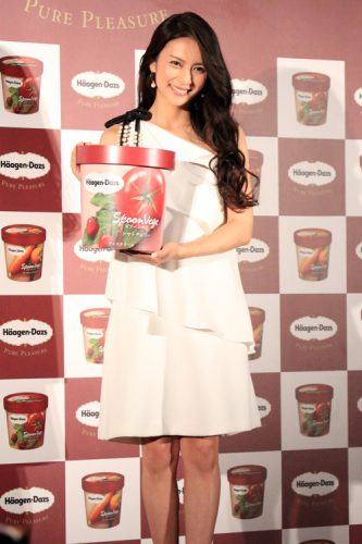 【速報】柴咲コウ絶賛!野菜のアイス、ハーゲンダッツから新発売