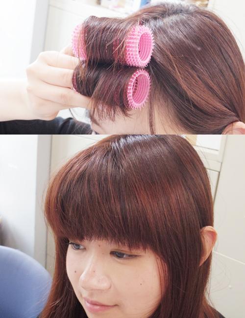 ■サロン帰りのような仕上がりの前髪