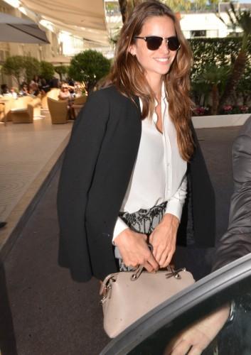 FENDI BTW for Izabel Goulart during the 67th Annual Cannes Film Festival.
