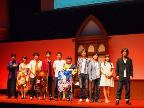 Fate発表会に人気声優・杉山紀彰、川澄綾子、植田佳奈、諏訪部順一、下屋則子らが集結