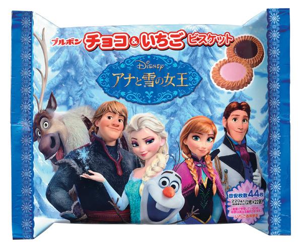 アナと雪の女王コラボ商品_チョコ&いちご