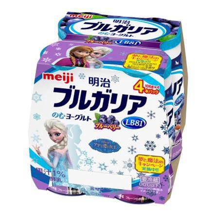 アナと雪の女王コラボ商品_明治2