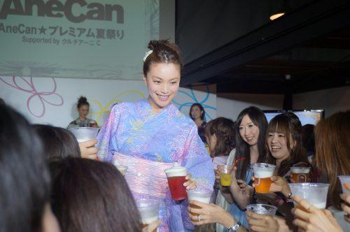 【速報】AneCan夏祭りで押切もえ、蛯原友里らが超かわいい浴衣姿を披露!