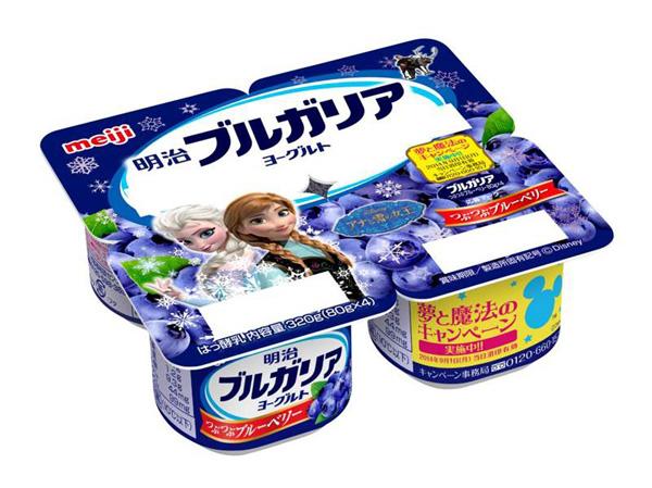 アナと雪の女王コラボ商品_明治1