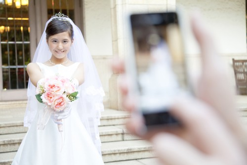 スマホ花嫁