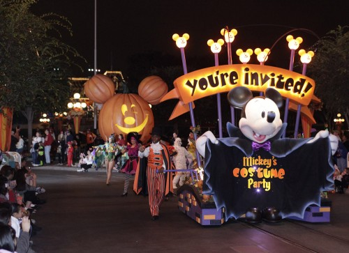 Michey's Halloween Party at Disneyland California