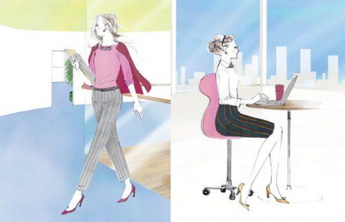 """【株式会社ワコール】 働く女性の好感度アップのカギは、""""姿勢""""にあり!"""