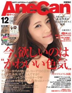 AneCan2014年12月号表紙