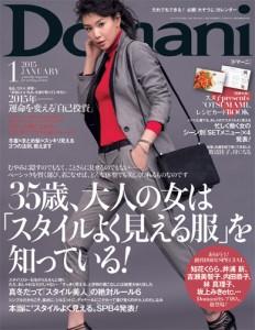 Domani2015年1月号表紙