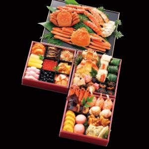 三大かに付おせち「北海慶膳」