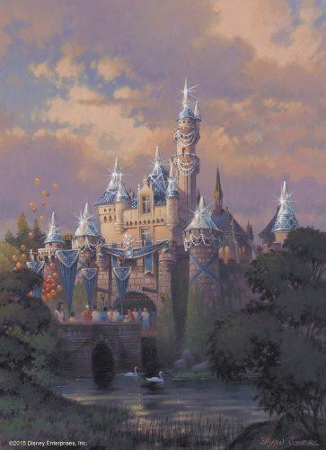 8.Sleeping Beauty Castle Decor