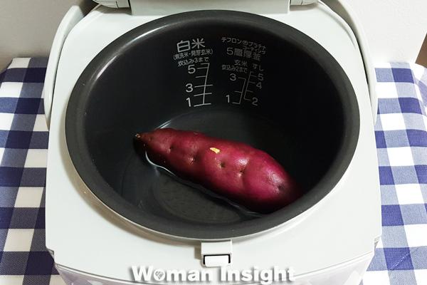 焼きいも,焼き芋,さつまいも,炊飯器