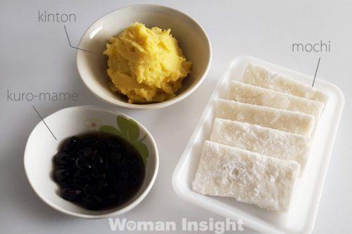 正月料理,おせち,餅,きんとん,黒豆,レシピ