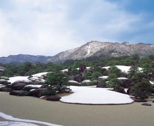 枯山水庭(冬)