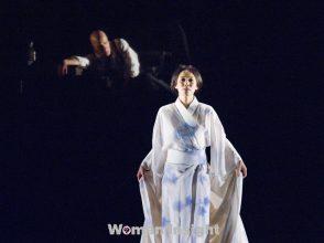 中谷美紀,猟銃,パルコ劇場,フランソワ・ジラール,舞台,井上靖,一人三役