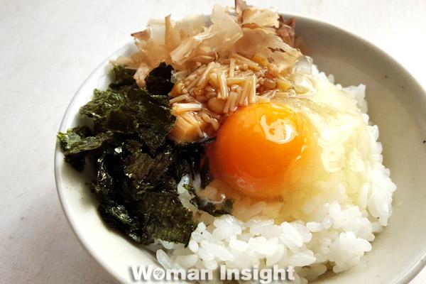 冷凍卵,卵,アレンジ