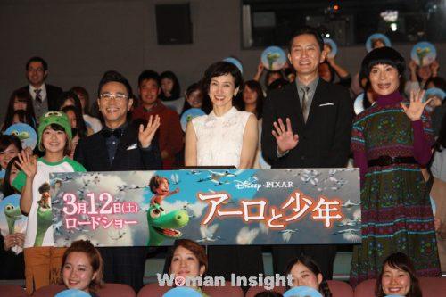 アーロと少年,安田成美,八嶋智人,ディズニー,PIXAR