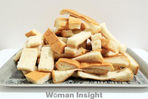 食パン,ラスク,簡単,レシピ,パンの耳