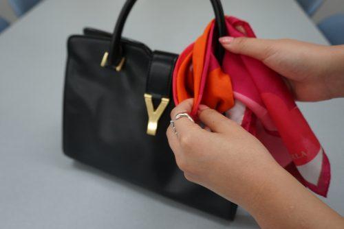 ■バッグの結び方おすすめアレンジ