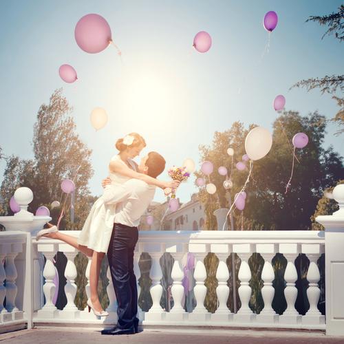 結婚、一目惚れ