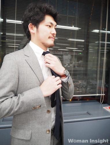 スーツ男子