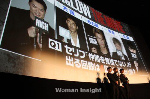 登坂広臣,佐藤寛太,今市隆二,HiGH&LOW THE MOVIE,ハイ&ロー