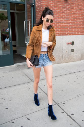 NEW YORK, NY - JULY 10: Model Kendall Jenner is seen in SoHo on July 10, 2016 in New York City. (Photo by Michael Stewart/GC Images)