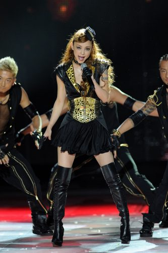 MONTE CARLO, MONACO - MAY 18: Singer Namie Amuro performs onstage during the World Music Awards 2010 at the Sporting Club on May 18, 2010 in Monte Carlo, Monaco. (Photo by Venturelli/WireImage)