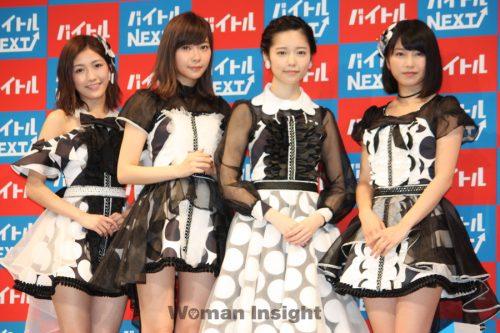 AKB48,島崎遥香,指原莉乃,横山由依,卒業発表,バイトル