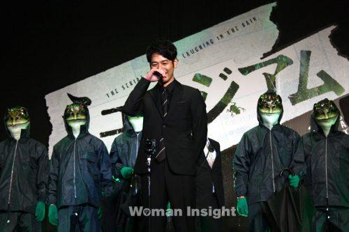 小栗旬,野村周平,カエル男,ミュージアム,尾野真千子,妻夫木聡