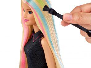 バービー,カラーリング,髪