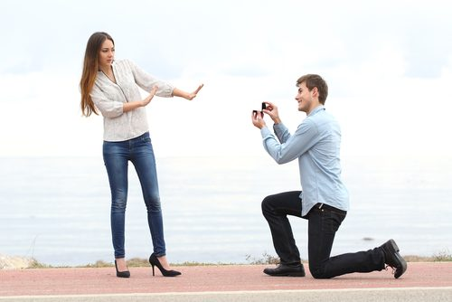 微妙なプロポーズ