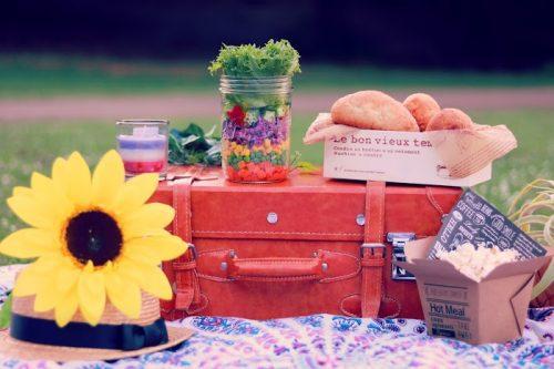 ピクニック,気分転換