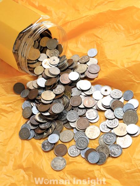 小銭貯金,500円玉貯金,貯金