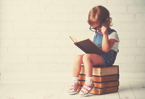 読書,かわいい,子ども