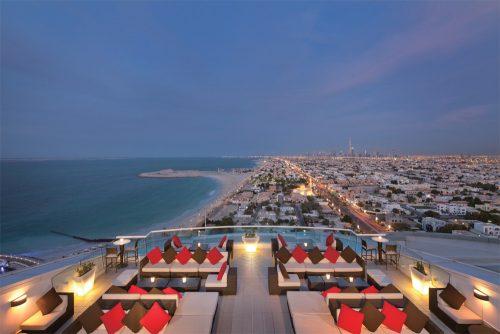 ドバイ,Dubai,ルーフトップバー,ジュメイラビーチホテル