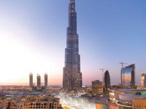 ドバイ,Dubai,ブルジュ・ハリファ,世界一,ビル,高層