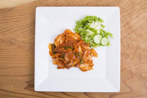 自家製,トマトソース,レシピ,洋食屋,ポークチャップ,レスラー,YAMATO,筋肉キッチン