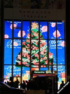 紗栄子,サマンサタバサ,クリスマス,点灯式,表参道