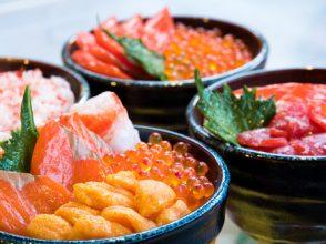北海道,海鮮,海鮮丼